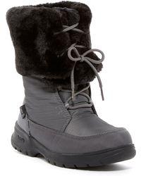 Kamik - Seattle Waterproof Faux Fur Boot - Lyst