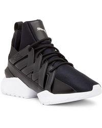 f536ee50944 PUMA - Muse Echo Satin En Pointe High Top Sneaker (women) - Lyst