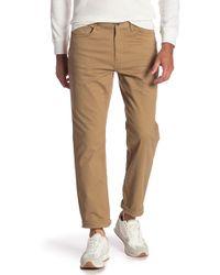 Joe Fresh - 5 Pocket Straight Leg Pants - Lyst