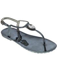 Dizzy - Diamond Strappy Sandal - Lyst