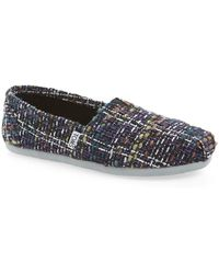 TOMS - Classic Boucle Slip-on Sneaker - Lyst
