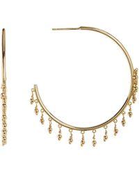 Gorjana - Sol Open Fringe 45mm Hoop Earrings - Lyst