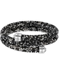 Swarovski - Crystal Dust Bangle Bracelet - Lyst