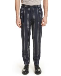 Tomorrowland - Striped Pant - Lyst