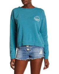 Billabong - It's Time Cropped Crew Neck Jumper - Lyst