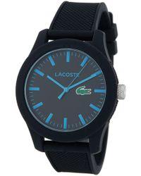 Lacoste - Men's 12.12 Resin Japanese Quartz Watch - Lyst