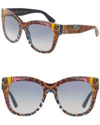 Dolce & Gabbana - 55mm Wayfarer Sunglasses - Lyst