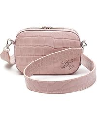 POP AND SUKI - Croc Embossed Camera Bag (nordstrom Exclusive) - Lyst 180d50f4f3cab