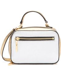 MILLY - Mixed Metallic Leather Mini Satchel - Lyst