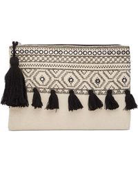 Shiraleah - Unity Embroidered Zip Pouch - Lyst