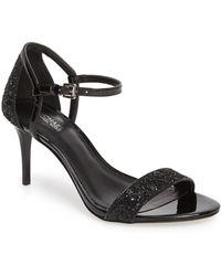 92d3c10c5848 Lyst - MICHAEL Michael Kors Simone Mid Sandals in Natural