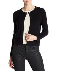 In Cashmere | Open Front Chain Toggle Cashmere Cardigan | Lyst
