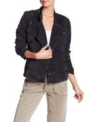 Marrakech - Military Cord Asymmetrical Button Jacket - Lyst