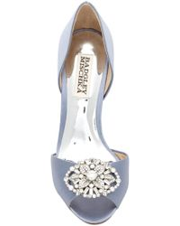 Badgley Mischka - Dana Crystal Embellished D'orsay Pump - Lyst
