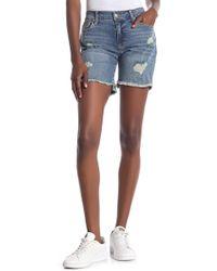 Joe's Jeans - Leandra Bermuda Short - Lyst
