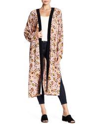 Sanctuary - Floral Long Sleeve Kimono - Lyst