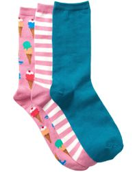 Hot Sox - Ice Cream - Pack Of 3 - Lyst