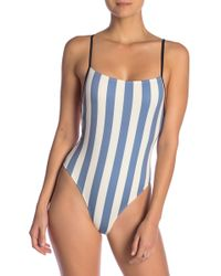 Solid & Striped - The Chelsea Stripe One-piece Swimsuit - Lyst