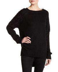 Line & Dot - Cypress Faux Fur Sweater - Lyst