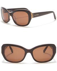 20a147564e75 Acetate 54mm Lyst Frame Sunglasses Women s Wayfarer Giorgio Armani wqwHfvX