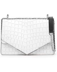 0fbe261fbc3e Lyst - MICHAEL Michael Kors Cooper Color Block Denim Cross-body Bag ...