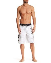 Affliction - Blackbird Boardshort - Lyst