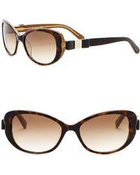 Kate Spade - Chandra 53mm Cat Eye Sunglasses - Lyst