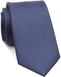Perry Ellis - Fine Line Solid Tie - Lyst