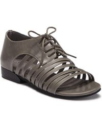 Antelope - Strappy Leather Oxford Sandal - Lyst