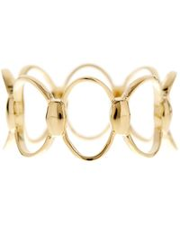 Bony Levy - 14k Yellow Gold Oval Pattern Ring - Size 6.5 - Lyst