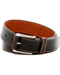 Boconi | Topstitched Leather Belt | Lyst