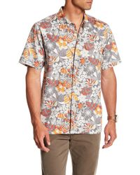 Tommy Bahama - Subtropical Palm Original Fit Short Sleeve Shirt - Lyst