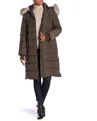 BCBGeneration - Faux Fur Trim Hood Parka - Lyst
