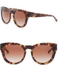 Michael Kors - Summer Breeze 50mm Rounded Sunglasses - Lyst