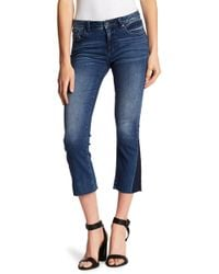 Miss Me - Cropped Slim Boot Cut Jeans - Lyst