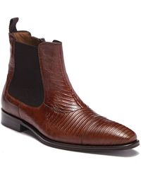 Mezlan - Tall Genuine Lizard Skin Boot - Lyst