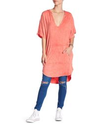 Green Dragon - Riviera Hooded Cover-up - Lyst