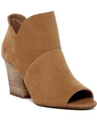 Vince Camuto - Chantina Open Toe Bootie - Lyst