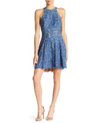 Dress the Population - Angie Halter Dress - Lyst
