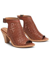 Trask - Paisley Leather Sandal - Lyst