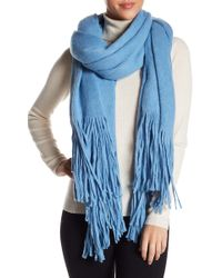 Urban Outfitters - Kolby Brushed Fringe Scarf - Lyst