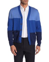 Brooks Brothers - Colorblock Cardigan - Lyst