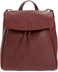 Skagen - Ebba Leather Backpack - Lyst