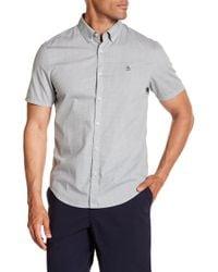 Original Penguin - Micro Geo Print Slim Fit Shirt - Lyst