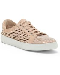 Vince Camuto - Chenta Perforated & Studded Trainer - Lyst