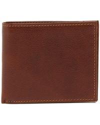 Boconi - Leather Bi-fold Wallet - Lyst