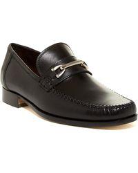 Bruno Magli - Piatto Leather Bit Loafer - Lyst
