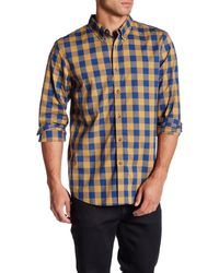 Oakley - Night Out Check Plaid Long Sleeve Shirt - Lyst
