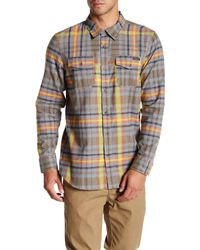 Oakley - Logistic Plaid Woven Long Sleeve Shirt - Lyst