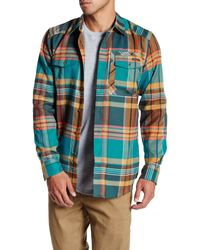 Oakley - Altitude Flannel Long Sleeve Shirt - Lyst